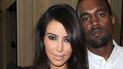 Kim Kardashian y Kanye West DL