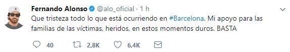 El mundo del deporte se solidariza con las víctimas de Barcelona BCN13.JPG