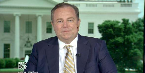In photos: Conservative media owner Christopher Ruddy of Newsmax is Trum...