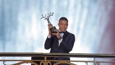 Kylian Mbappé, mejor jugador joven del año