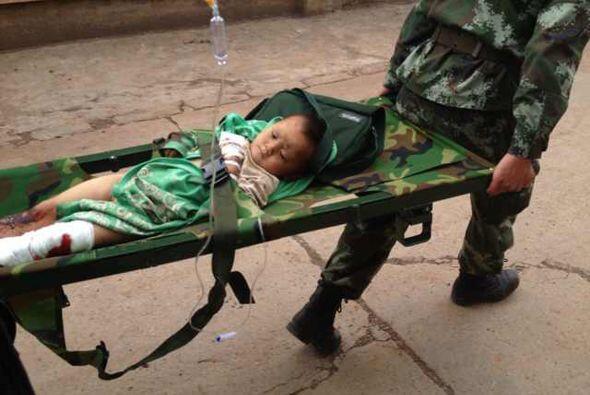 El Centro Nacional de Seguimiento de Terremotos de China informó que inn...