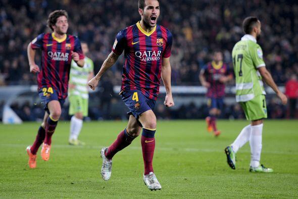 El primer gol del partido llegó con apenas ocho minutos disputados.