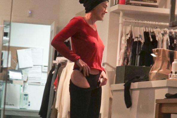 Sharon Stone chones