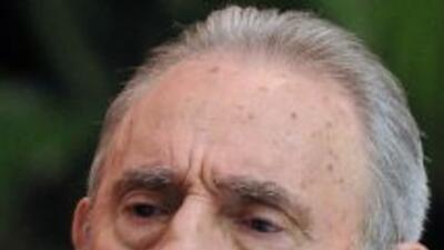 El líder y ex presidente cubano, Fidel Castro.