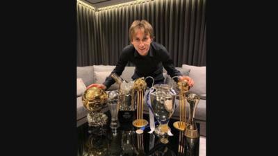 Modric le responde a Simeone y critica la postura de Messi y Cristiano en el Balón de Oro