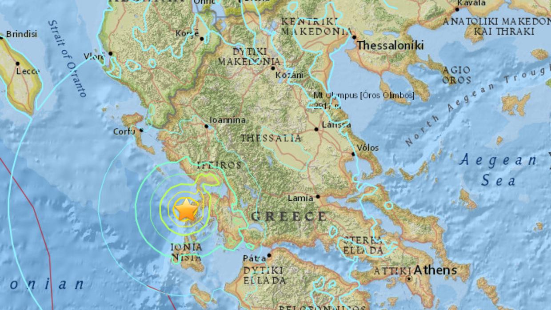 El epicentro del sismo se ubicó a una profundidad de 11.1 kilómetros.