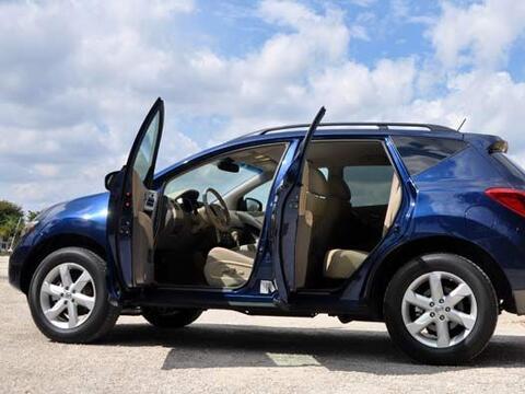 5. Nissan Murano SL: Este crossover de la Nissan fue el único veh...