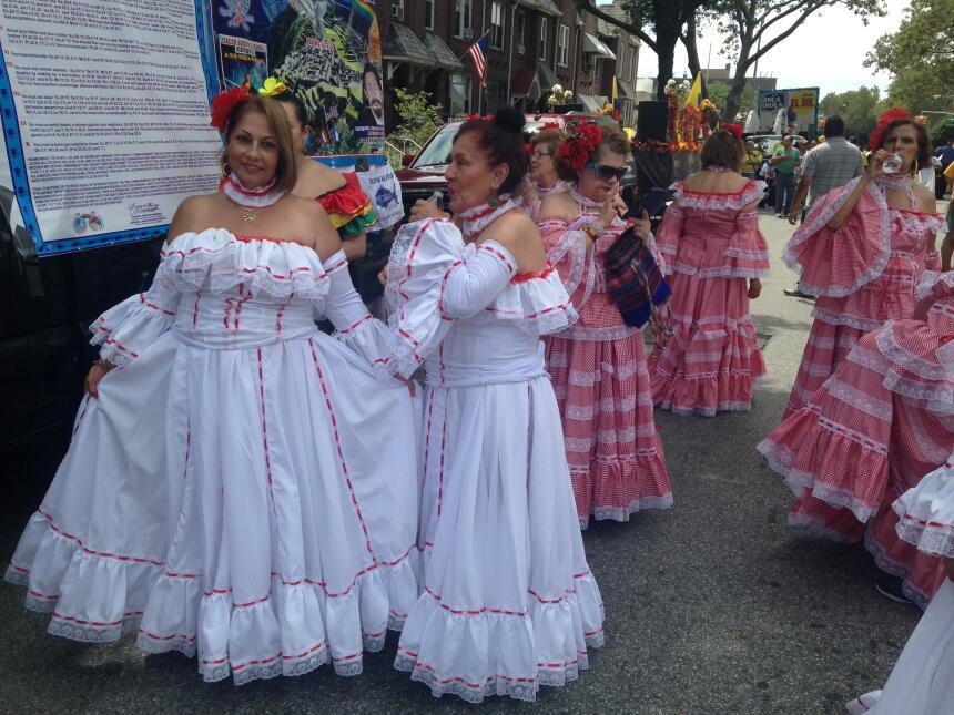 El desfile celebra la herencia de los inmigrantes en NYC.