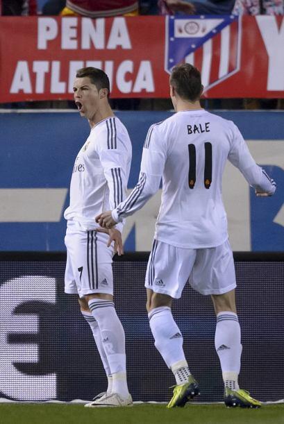 Ronaldo se convirtió nuevamente en el héroe de los merengues alcanzando...