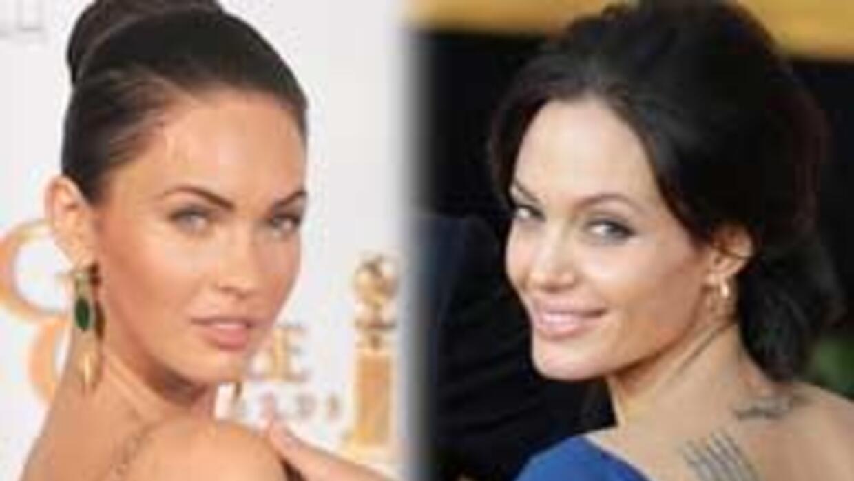 El parecido físico entre Megan y Angelina ha causado gran controversia.