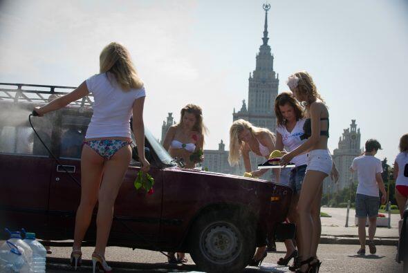 Ellas pertenecen a una red social que se llama 'Realmente me gusta Putin...