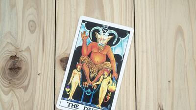 El significado de la carta del diablo en el tarot