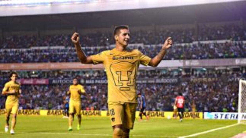 Ismael Sosa enseñó el camino del gol a los Pumas.