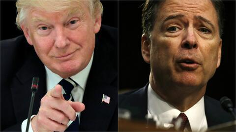 ¿Existen grabaciones de las conversaciones que tuvieron Trump y el exdir...