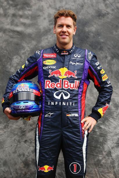 Sebastian Vettel, Alemania, Red Bull-Renault.