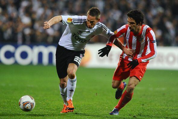 En otro partido de suma importancia, el Atlético de Madrid se met...