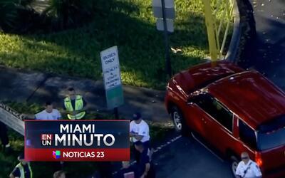 'Miami en un Minuto': en un hospital permanece la directora asistente de...