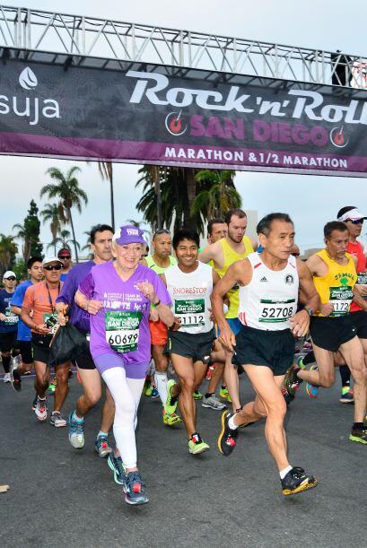 Su principal motivo para correr un maratón de 26.2 millas,  es recaudar...