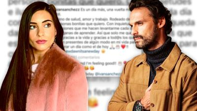 """Sin un """"Te amo"""": la distante felicitación de Ana Brenda a Iván Sánchez en su cumpleaños"""
