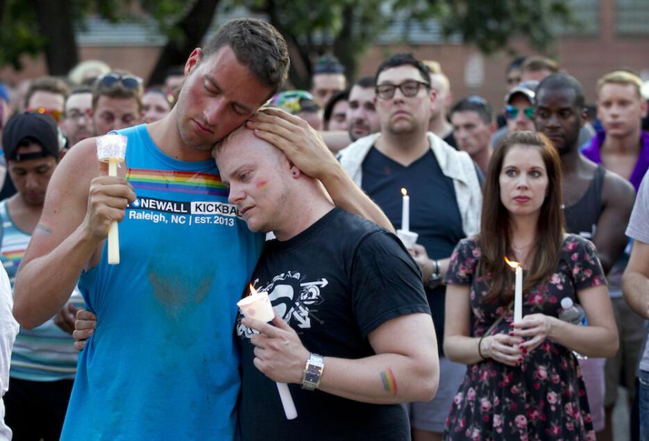Vigilias por las víctimas de la masacre de Orlando en EEUU y otros paíse...