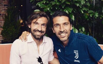 'Il Maestro' Andrea Pirlo se reencontró en Nueva York con 'Gigi'...