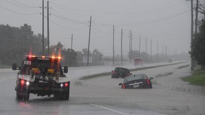 Fotos de las inundaciones en Texas: cuando las carreteras se convierten en ríos