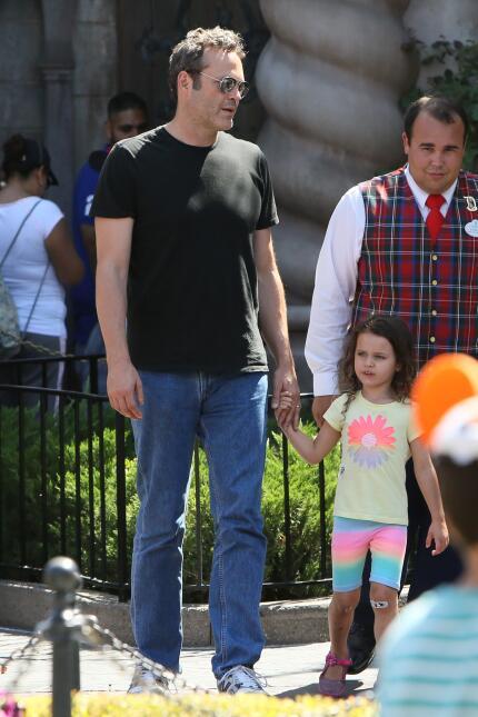 Vince Vaughn celebra el día del padre