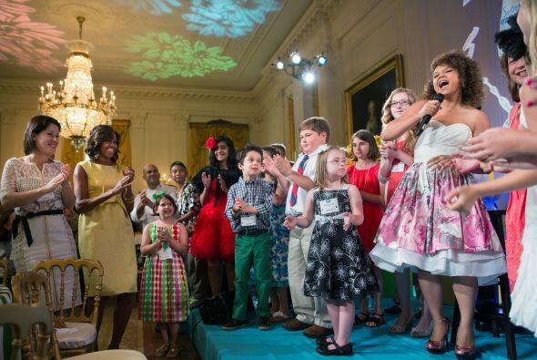 La iniciativa de la esposa del presidente Obama ataca directamente el pr...