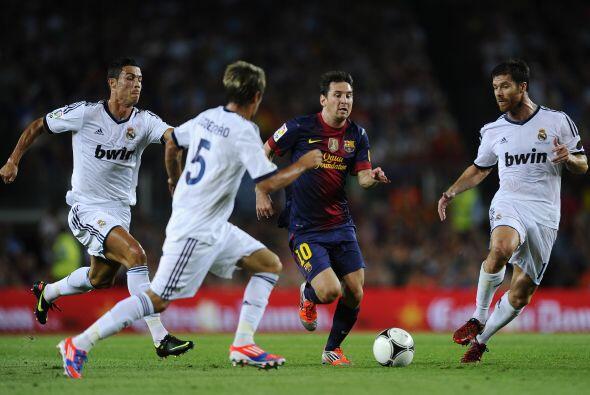 Pero el genio de Lionel Messi causó un par de ocasiones que pudieron ser...