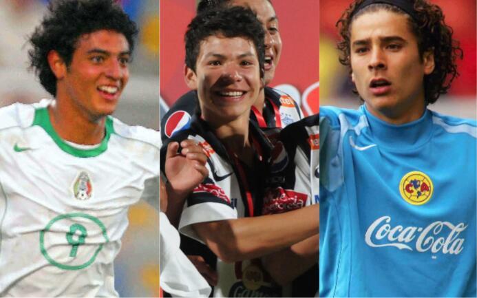 Niños del 'Tri': la cara juvenil y la actual de los jugadores de la sele...