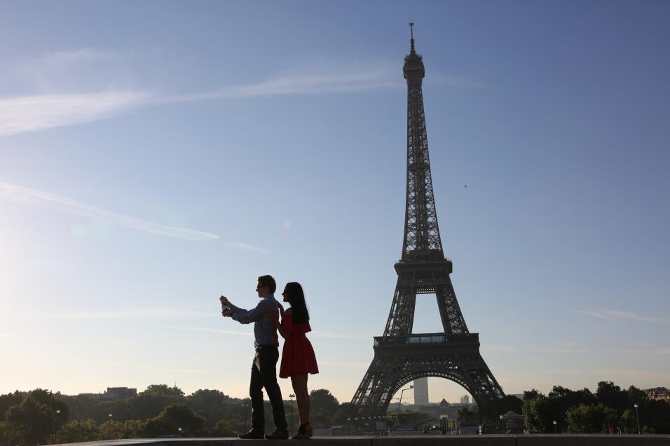 La torre Eiffel, París (Francia)