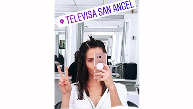 Claudia Álvarez en cambio de imagen para su protagónico en la novela &#3...