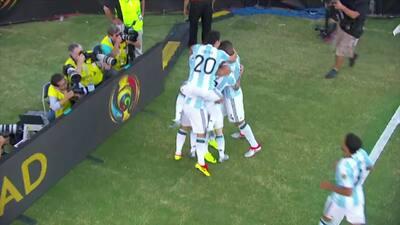 Los 5 goles del Argentina vs Venezuela con el 'Spider Cam'