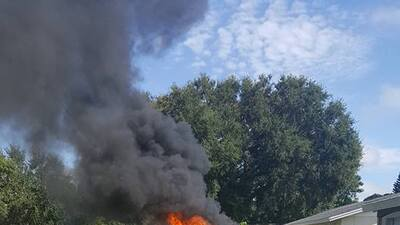 Galaxy Note 7 estalla y prende en fuego el auto de una familia de Florida