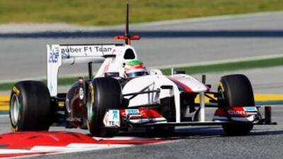 El mexicano Sergio Pérez está confirmado para la última sesión de prácti...