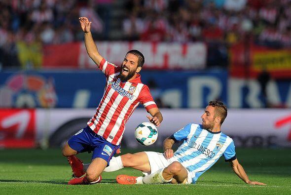 Mientras tanto, el partido entre madrileños y malagueños seguía sin anot...