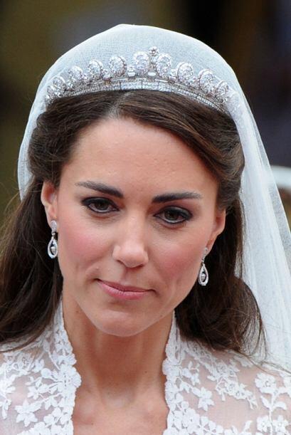 El día de su boda, Kate Middleron sedujo a todos con la tiara Halo de Ca...