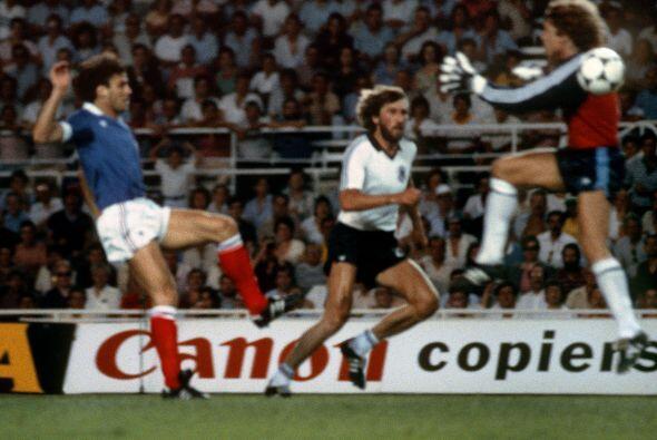 Y ahora sí entramos en el 'Top' de nuestra lista. En el Mundial de 1982...