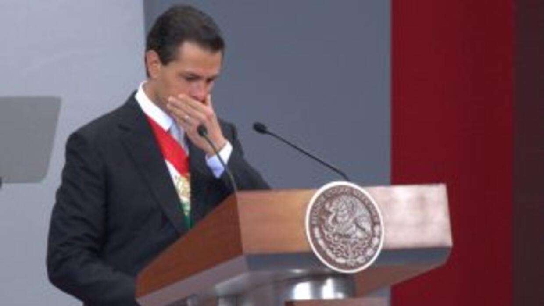 El presidente mexicano, Enrique Peña Nieto.