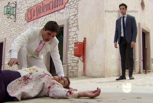 ¡Noooo! Doña Vicenta, ¡no! Es una verdadera tragedia Diego.