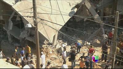 Decenas de muertos por la ofensiva israelí en Gaza