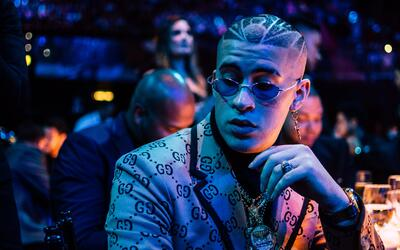 El  cantante Bad Bunny asistió a la ceremonia de Premio Lo Nuestr...