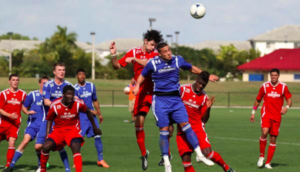 Jugadores en el MLS Combine