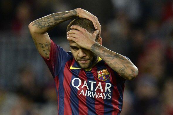 El lateral del Barcelona tiene tatuada una imagen de su madre sobre unos...