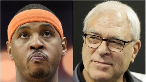 Phil Jackson sigue con los ataques a Carmelo Anthony.