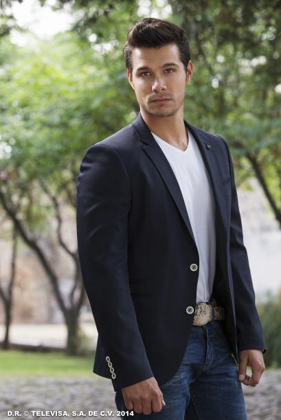 """Brandon Peniche será """"Héctor"""". Él es  caprichoso y vive enamorado de """"Ac..."""