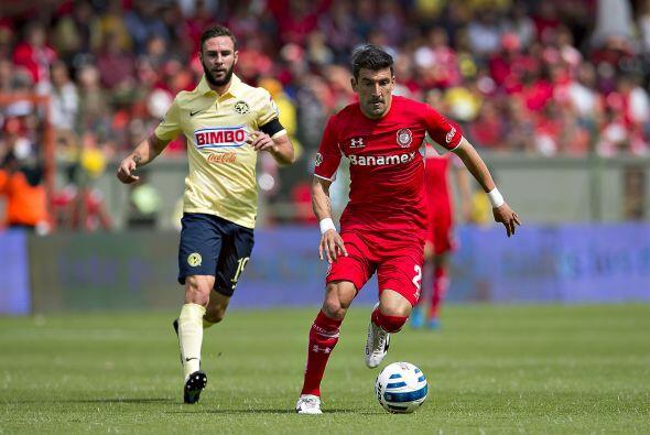 Además de Brizuela y Amione el Toluca tiene a Edgar Benítez, el paraguay...