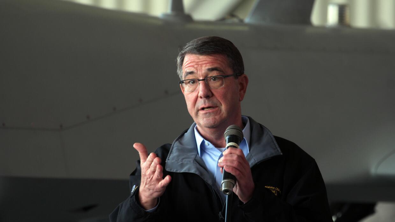 El jefe del Pentágono, Ashton Carter.