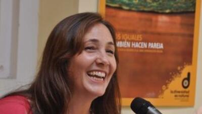Mariela Castro, hija de Raúl Castro.