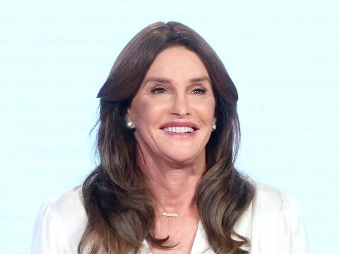 Caitlyn Jenner durante la presentación de la nueva temporada de s...